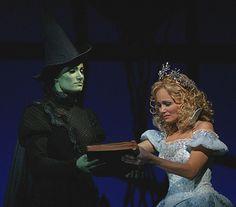 Kristin Chenoweth and Idina Menzel in Wicked