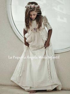 . Baptism Dress, Christening Gowns, Cute Flower Girl Dresses, Girls Dresses, Holy Communion Dresses, Special Dresses, Pageant Dresses, Beautiful Dresses, Lace Dress