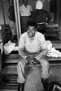 Cassius Clay. Rome Olympics 1960