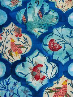 Magic Birds by Ruti Shaashua on Artfully Walls