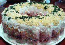 Χριστουγεννιάτικη διάθεση με φανταστική τρίχρωμη γιορτινή σαλάτα