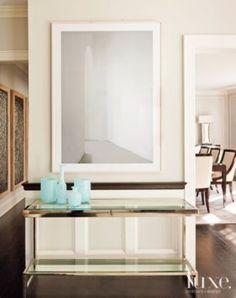 Contemporary Cream Hallway | Contemporary > Hallways | LUXE Source