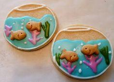Cute fishbowl cookies
