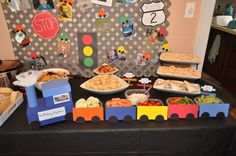"planes trains and automobiles 1st birthday | Photo 3 of 41: Planes, Trains, and Automobiles / Birthday ""Beep beep ..."