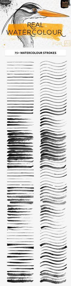 The Digital Designer's Artistic Toolkit #watercolor