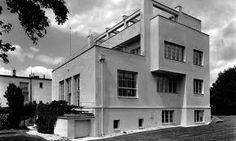 loosova vila - Hledat Googlem Arch House, Weekend House, Tel Aviv, Under Construction, Rotterdam, Athens, Facade, Architecture Design, Studios