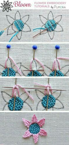 Embroidery Stitches Definition since Embroidery Designs Tops every Sports Embroidery Near Me many Embroidery Hoop Guide Embroidery Stitches Tutorial, Embroidery Needles, Learn Embroidery, Crewel Embroidery, Hand Embroidery Patterns, Embroidery Techniques, Ribbon Embroidery, Cross Stitch Embroidery, Simple Embroidery