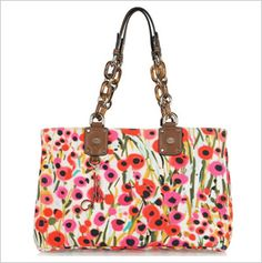 Beautiful floral fashions for summertime