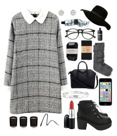 50 shades of grey by englandgeo on Polyvore featuring polyvore, fashion, style, Kate Spade, dELiA*s, Givenchy, Cartier, INDIE HAIR, MAC Cosmetics, Burberry, Cassia, Aesop and clothing