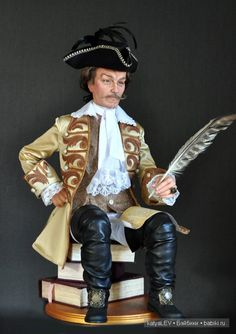 "кукла ""Барон Мюнхгаузен"""