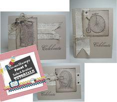Meg's Final 5 Sale-A-Bration Tutorials: Feeling Sentimental stamp set