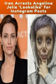 What Angelina Jolie 'Lookalike' Actually Looks Like Hippie Kids, Womens Glasses Frames, Social Media Influencer, Pakistani Actress, Baby Boy Fashion, Look Alike, Celebs, Celebrities, Angelina Jolie