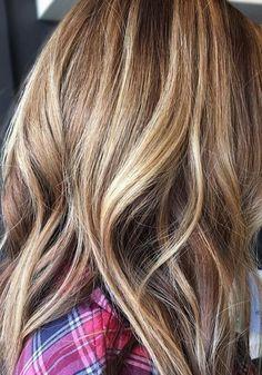 Trendy Hair Color Ideas 2017/ 2018 : fall balayage hair color