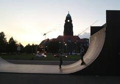 Dresden, Skater-Platz