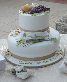 La torta per la Prima Comunione del mio nipotino🍰
