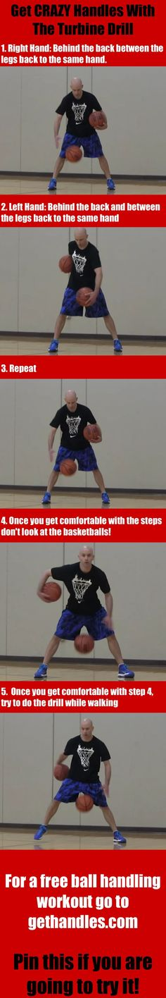 Get crazy handles with the turbine drill   #basketball #ballislife Get the best tips on how to increase your vertical jump here: