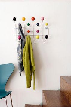 Hang It All, Eames, Vitra Coat Hooks, Coat Hanger, Towel Hooks, Charles Eames, Vitra Hang It All, Hat Racks, Hat Holder, Hat Display, Baseball Hat
