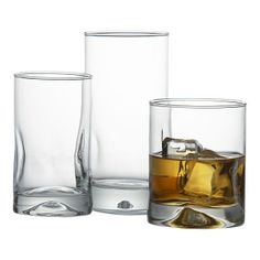 Crate and Barrel: Impressions Glasses- I like how simple these are, but still a bit different