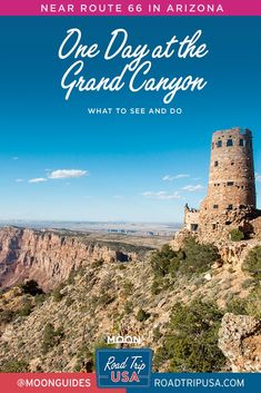 If you are just stopping in for one day at the Grand Canyon on your southwest road trip, here's what to see and do—for first-timers, hikers, and returning visitors. #arizona #grandcanyon #nationalpark Grand Canyon Village, Grand Canyon Railway, Federal Parks, Bright Angel Trail, American National Parks, Grand Canyon National Park, Road Trip Usa, Plan Your Trip, Historical Sites