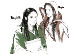 Pengolodh and Maglor