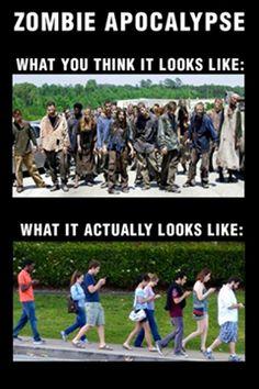Funny Pictures: ZOMBIE APOCALYPSE