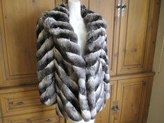 chinchilla coats | John Galliano Chinchilla fur coat at 1stdibs