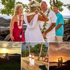 A pretty amazing wedding (July Congrats to Rhonda and Jesse! Kona Beaches, Kona Coast, July 10, Hawaiian Islands, Beach Weddings, Hawaii Wedding, Big Island, Elegant, Wedding Dresses