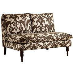 Marrakesh Armless Pillow-Top Love Seat at HSN.com