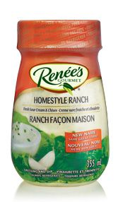 RENÉE'S<SUP>®</SUP> HOMESTYLE RANCH DRESSING