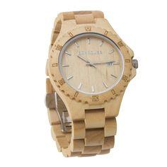 0551d9cee859 Reloj madera de pulsera original de hombre Cohnquer Coolness Maple. Diseño  deportivo en madera de arce. ¡Cómpralo ahora con ga…