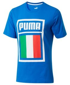 ad83b402870 Puma Men s Forever Football Italy Soccer T-Shirt   Reviews - Macy s