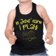 In Jesus' Name I Play Tank (Neon Blue, Neon Yellow)
