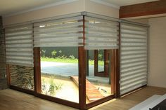 Twist Roller Blinds Open whilst down - Privacy and light control