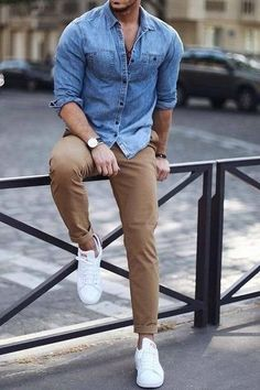Why mens fashion casual matters ? Because no one likes to look boring ! But what are the best mens fashion casual tips out there that can help you [ . Summer Outfits Men, Stylish Mens Outfits, Summer Men, Stylish Man, Men's Spring Outfits, Mens Casual Dress Outfits, Business Casual Outfits For Work, Business Casual Men, Work Casual