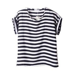 Wholesale Women Chiffon T Shirts Ladies Loose Short Sleeve Shirts Striped Heart Lip Tops Novelty Tee Shirts Awesome Shirt Designs From Rebecco, $25.62| Dhgate.Com
