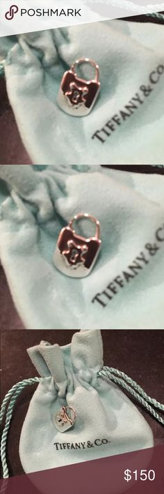 Tiffany & Co. Silver Vintage Charm Padlock Pendant Tiffany and Company  sterling silver Lock Charm. New unused.  Please see my other Tiffany listings! Ask all questions! Tiffany & Co. Jewelry