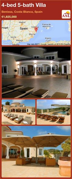 4-bed 5-bath Villa in Benissa, Costa Blanca, Spain ►€1,825,000 #PropertyForSaleInSpain