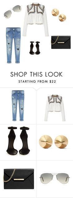 """""""Untitled #10"""" by linasales on Polyvore featuring Isabel Marant, Eddie Borgo, MICHAEL Michael Kors, Ray-Ban, women's clothing, women's fashion, women, female, woman and misses"""