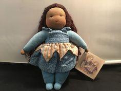 Vintage Magic Cabin Doll – Hand-stitched by Julia Pellegrino – Mocha Skin in Dolls, Bears, Dolls, Vintage Hand Stitching, Mocha, Cabin, Dolls, Christmas Ornaments, Holiday Decor, Bears, Vintage, Baby Dolls