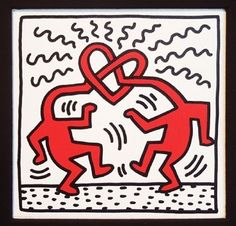 Untitled By Keith Haring: Category: Art Currency: GBP Price: Retail Price: Pop Art Graffiti Gift ShopBlack and White Art for… Keith Haring Poster, Keith Haring Art, Keith Allen, Poster S, Family Poster, Arte Popular, Norman Rockwell, Andy Warhol, Graffiti Art