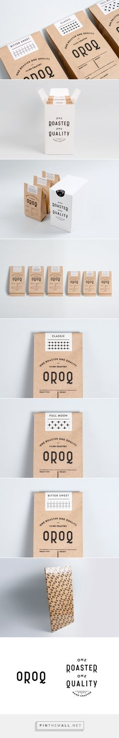 One Roaster One Quality on Behance | Packaging & Branding Designed by Studio Plat