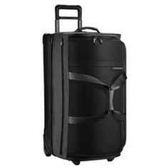 Buy the Briggs & Riley Transcend 200 Dual Compartment Wheeled Duffle at eBags - This compartmentalized duffel makes packing and traveling a little bit easier. The Briggs & Riley T Rolling Duffle Bag, Rolling Bag, Nylons, Briggs And Riley, Cabin Bag, Luggage Bags, Large Luggage, The Ordinary, Travel Bags
