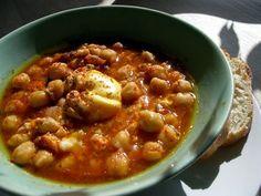 Lablabi -Tunisian chick pea soup More