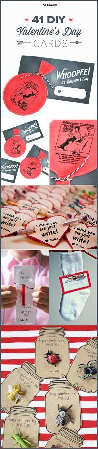 41 DIY Valentine's Day Cards Perfect For the Classroom Party