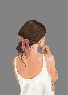 Illustration Art Drawing, Illustration Mode, People Illustration, Art Drawings Sketches, Digital Illustration, Illustrations, Digital Art Girl, Digital Portrait, Portrait Art