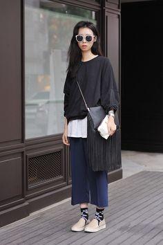 Korea Seoul 2014 aug // Elegant teacher style