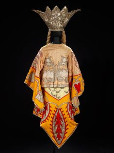 Costume back for the Ballets Russes