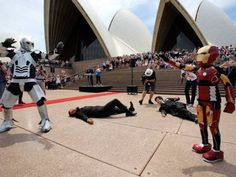 'Iron Boy' saves Sydney as Downey Jr tweets support - The Express Tribune