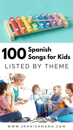 Find songs in Spanish for kids and for high school Spanish learners, with these lists of top Spanish songs by themes. Learn Spanish the fun way, with authentic music! Preschool Spanish, Learning Spanish For Kids, Elementary Spanish, Spanish Activities, Teaching Spanish, Top Spanish Songs, Learn Spanish, Spanish Lessons, Fun Songs