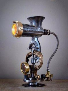 meat grinder lamp - Google Search